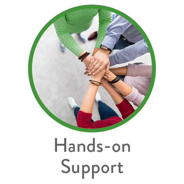 Hands-on Support